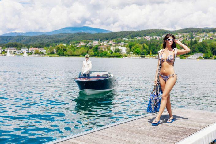 "bikinishooting for the magazine ""Kärntnerin"""