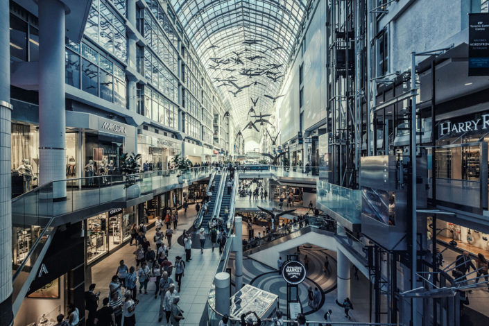 Toronto shopping