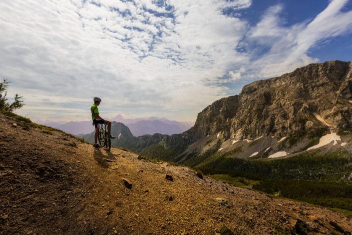 biking in the Carinthian region of Nassfeld