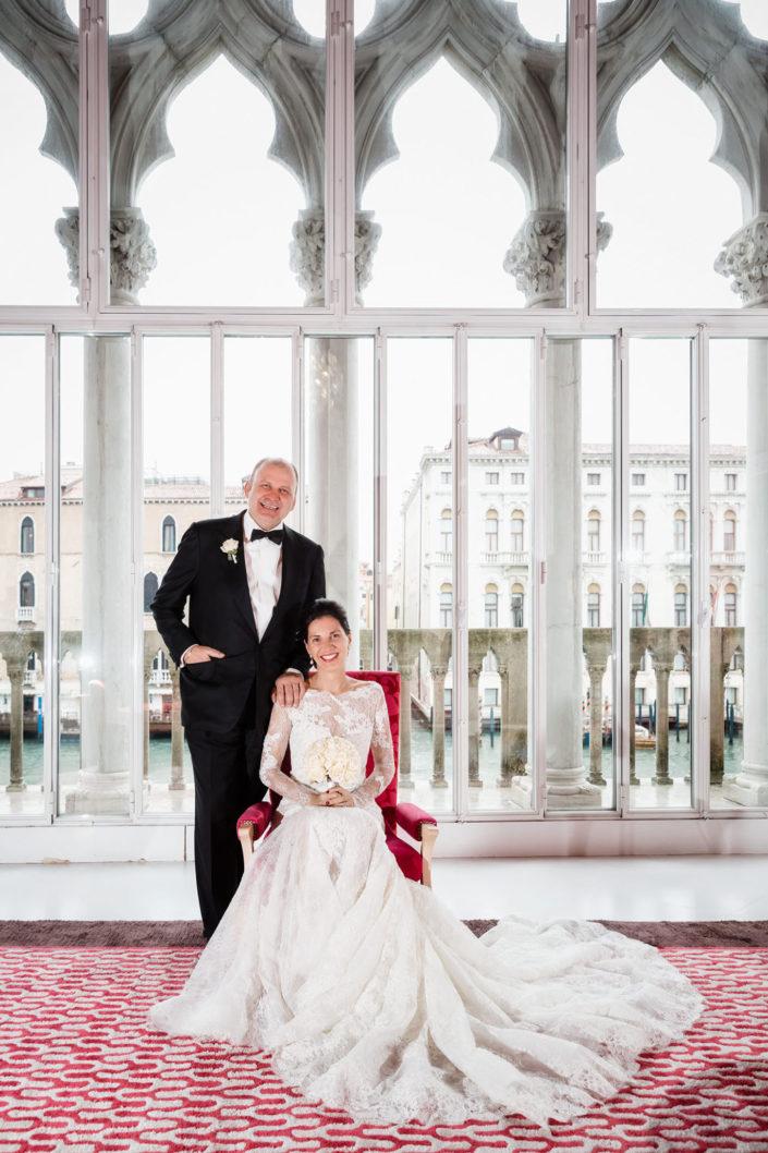Claudia und Herbert in Venedig 2015-11-21