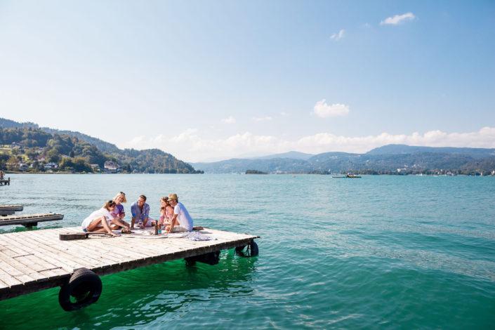 Geschmack der Kindheit Picknick am See