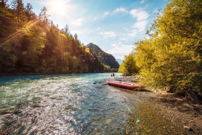 Geschmack der Kindheit am Fluss