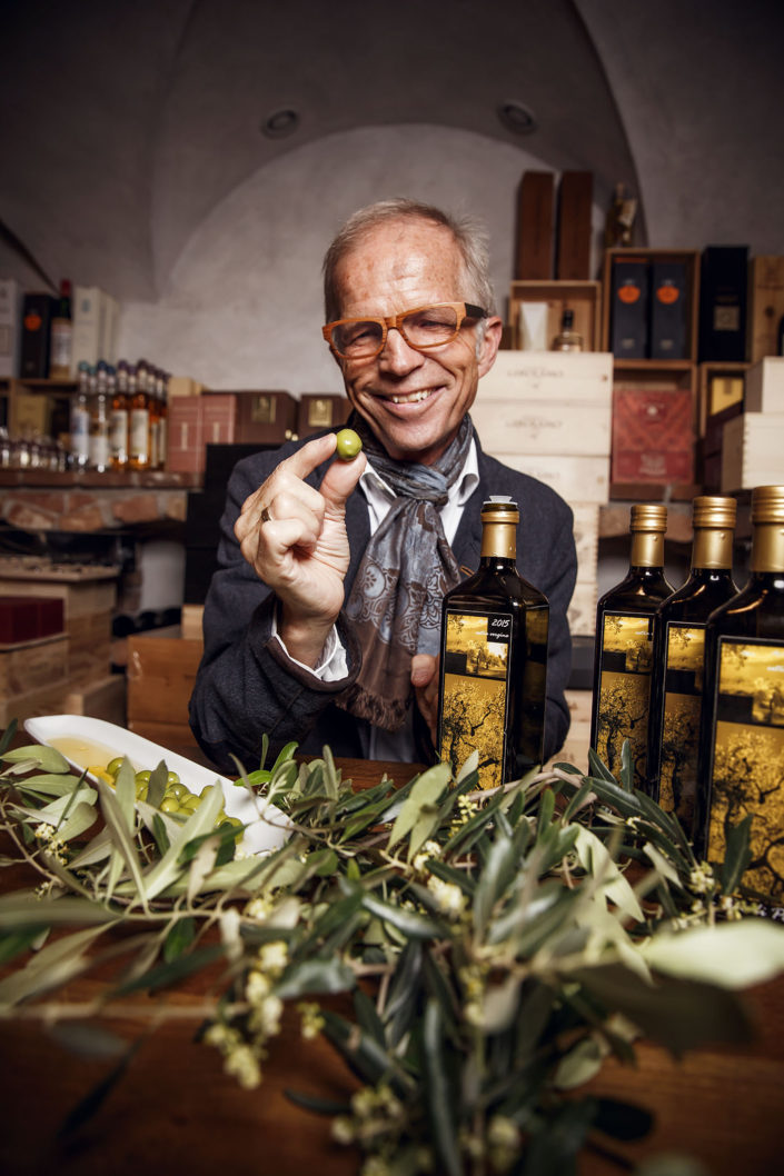 the chef of olives