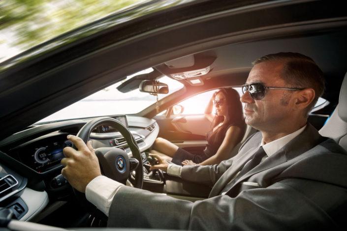 Infineon and BMW i8