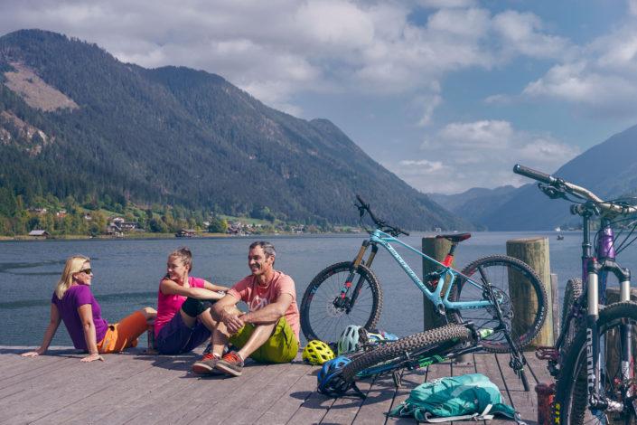 Österreich Werbung Bike Weissensee und Drau 2018-09-23