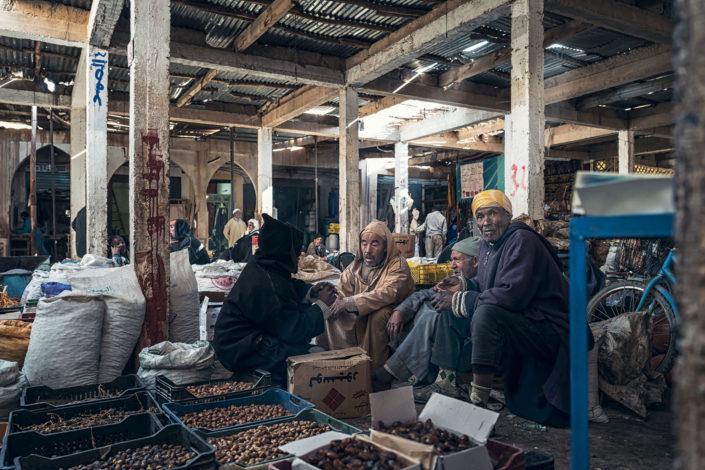 Morocco souk of Risani