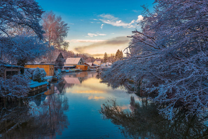 Sattnitz wintermorning