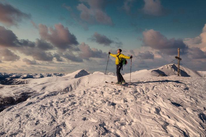 Skitour Falkert - Steinnock 2020-01-01