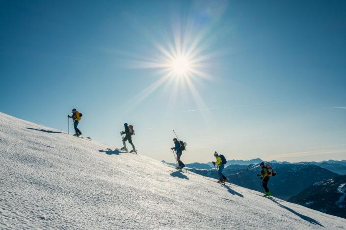 Skitour Falkert - Steinnock 2020-01-02