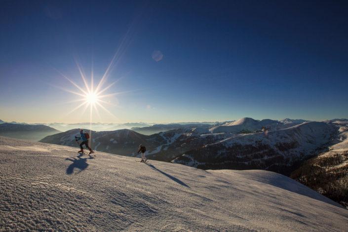 Skitour Falkert und Hundsscharte