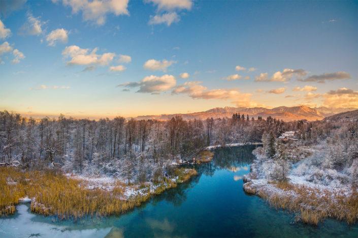 Wörthersee Klagenfurt und Loretto 2017-01-14