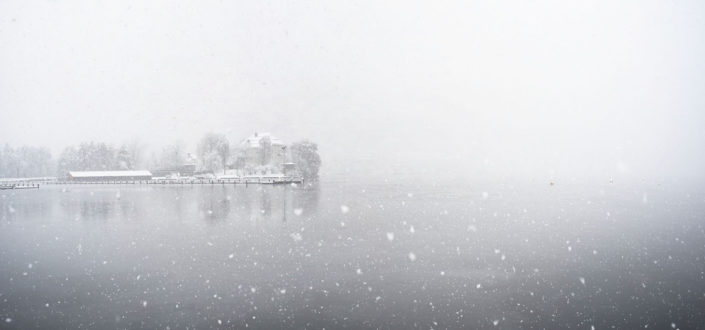winter in Klagenfurt