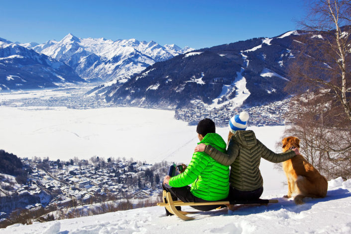 Zell am See Winter Family