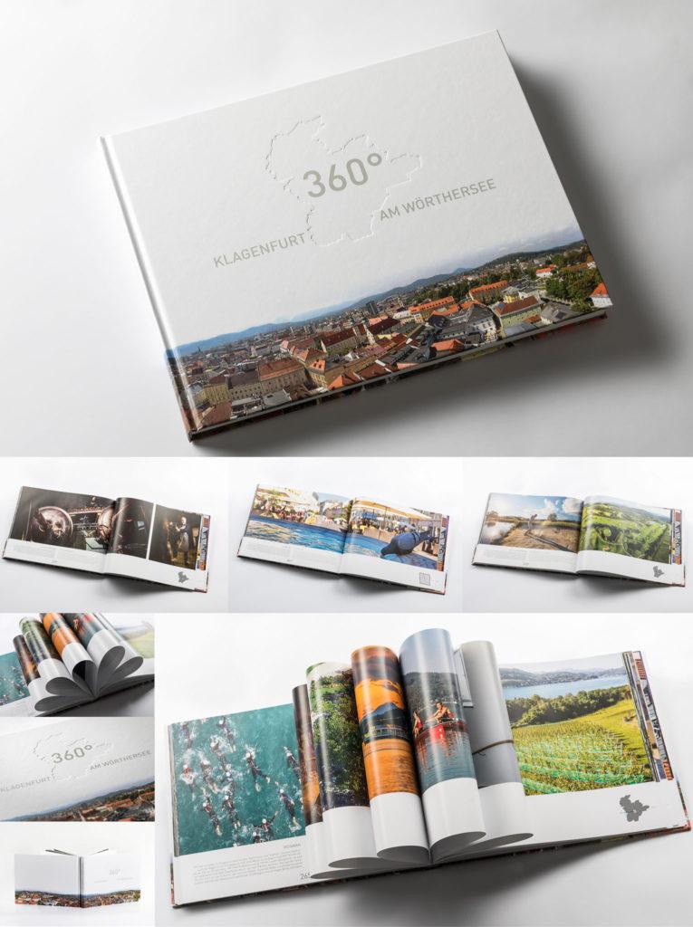 Klagenfurt 360° book