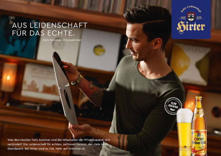 Hirter Beer DJ AD