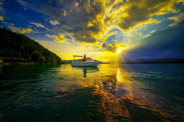 Jet Marine boat shooting